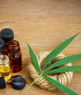 Hemp oil and CBD oil