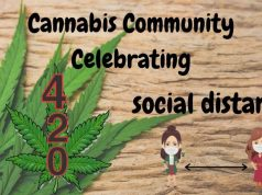 Cannabis Community Celebrates 420 Event by Social Distancing